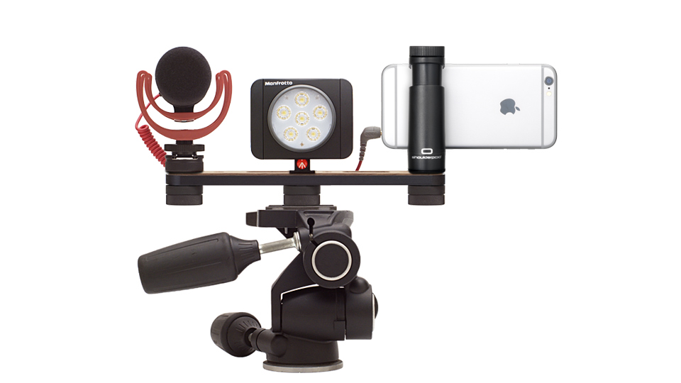 Shoulderpod X1 professional smartphone and iphone tripod rig