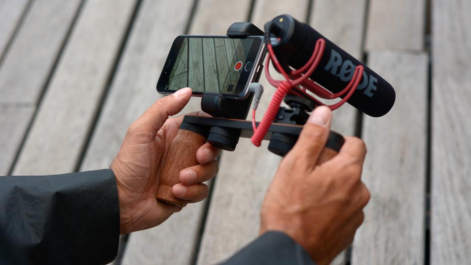 Shoulderpod X1 professional iphone rig