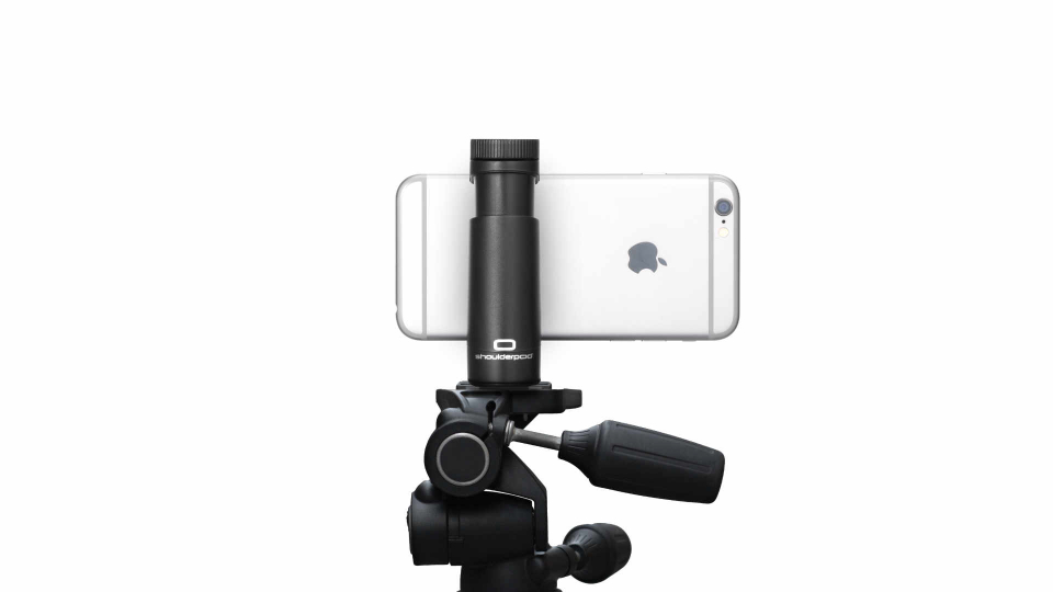 Shoulderpod G1 grip tripod mount adapter for iphone