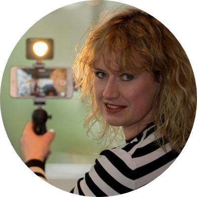 Harmke Oudenampsen - Mobile Journalism trainer