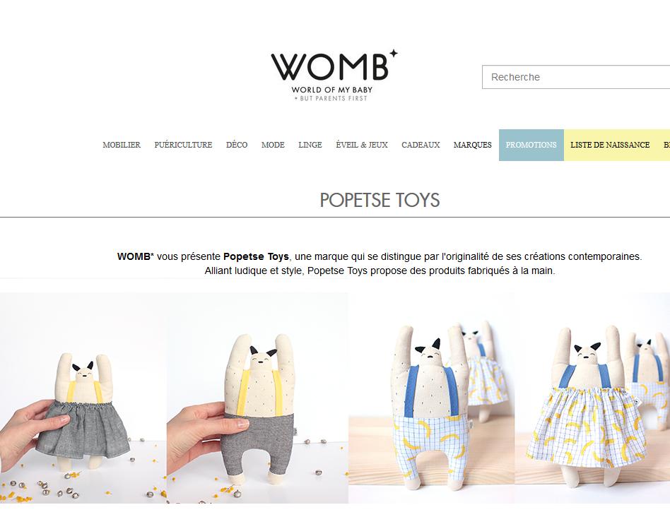 Womb popetse toys