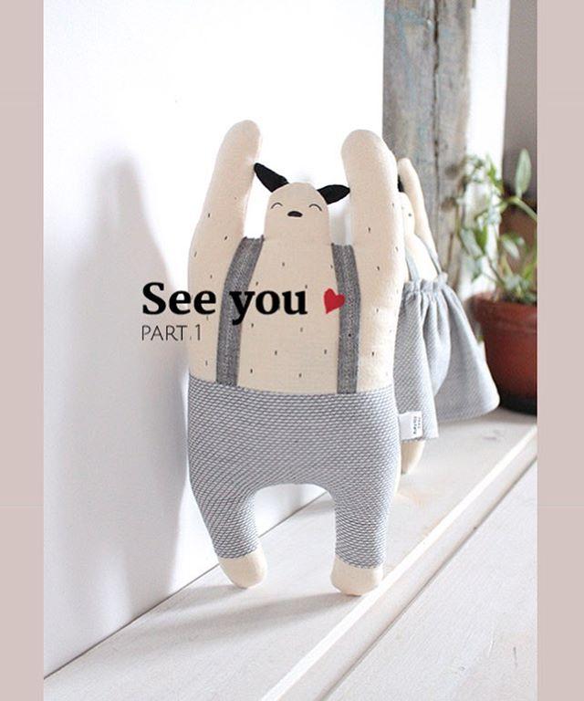 """❤️ Ca y est! La grande vente en ligne """"see you"""" a commencé ! On commence avec mes joyeux compères Tokiko et Tokie à prix très très doux. Pensez à regarder vos boîtes mail - et pour ceux qui ne se seraient inscrit que ce soir une deuxième vague d'e-mail partira demain soir ; ). #lastchance #happyfriends #cute #sale #loveyouguys"""