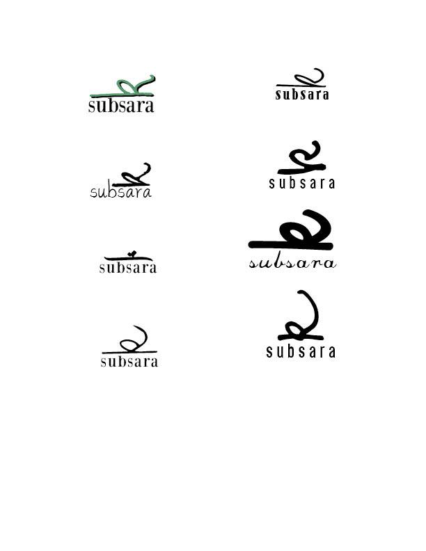 Designing A New Name Logo Kristina Subsara