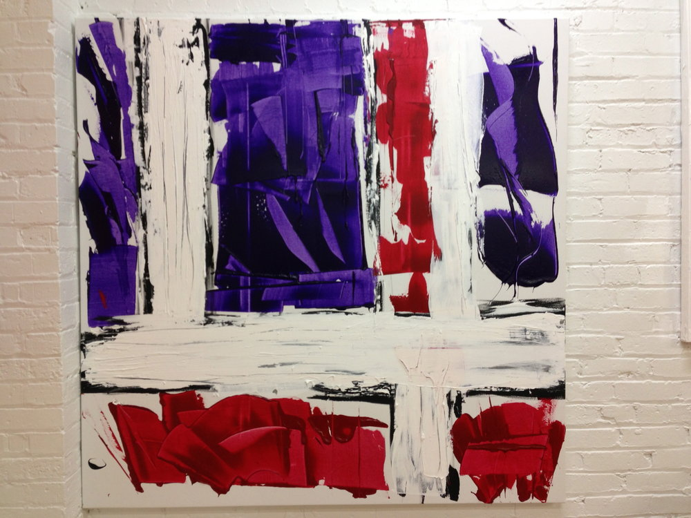 impetus series / acrylic on canvas / 72 in. x 60 in.