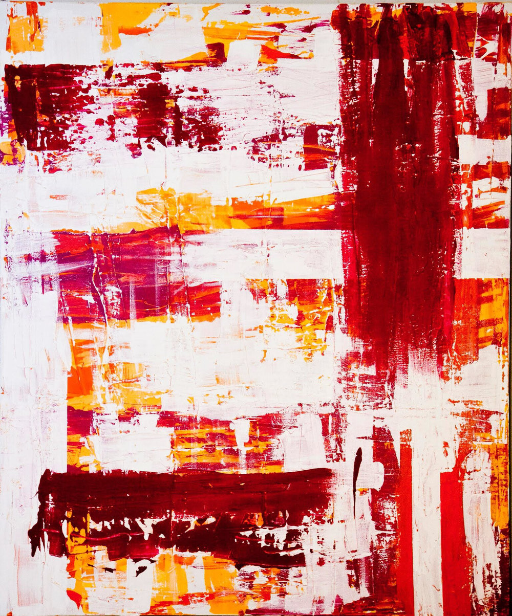 impetus series / acrylic on canvas / 84 in. x 60 in.