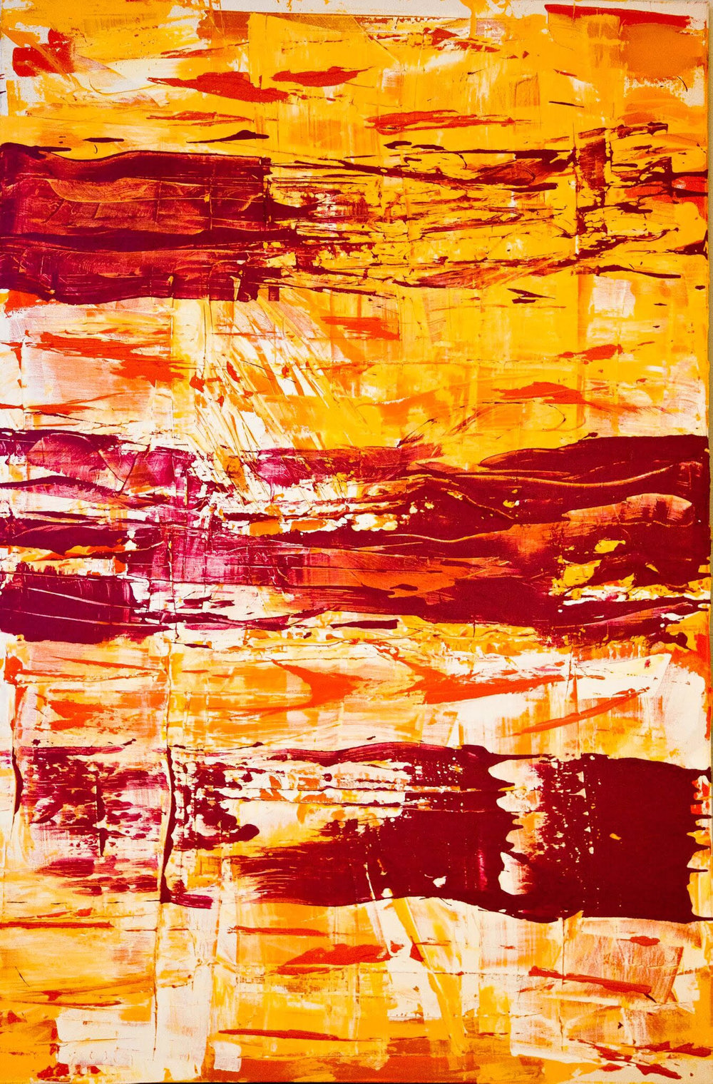 impetus series / acrylic on canvas / 84 in. x 48 in.