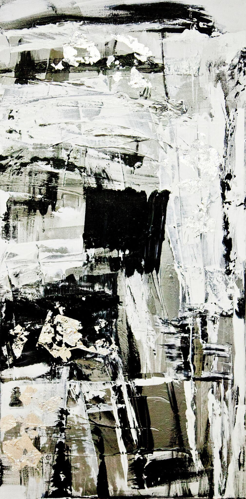 venice series / acrylic on canvas / 60 in. x 24 in.