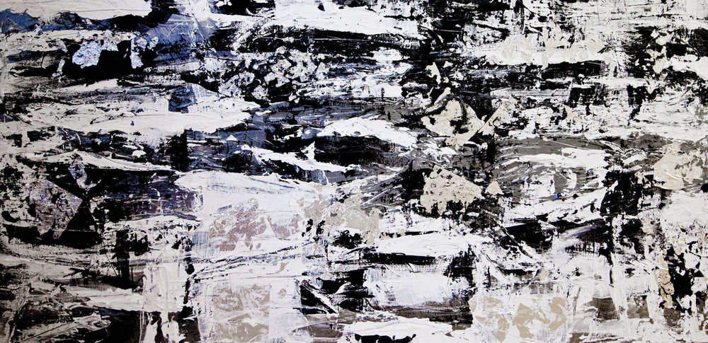 venice series / acrylic on canvas / 72 in. x 36 in.