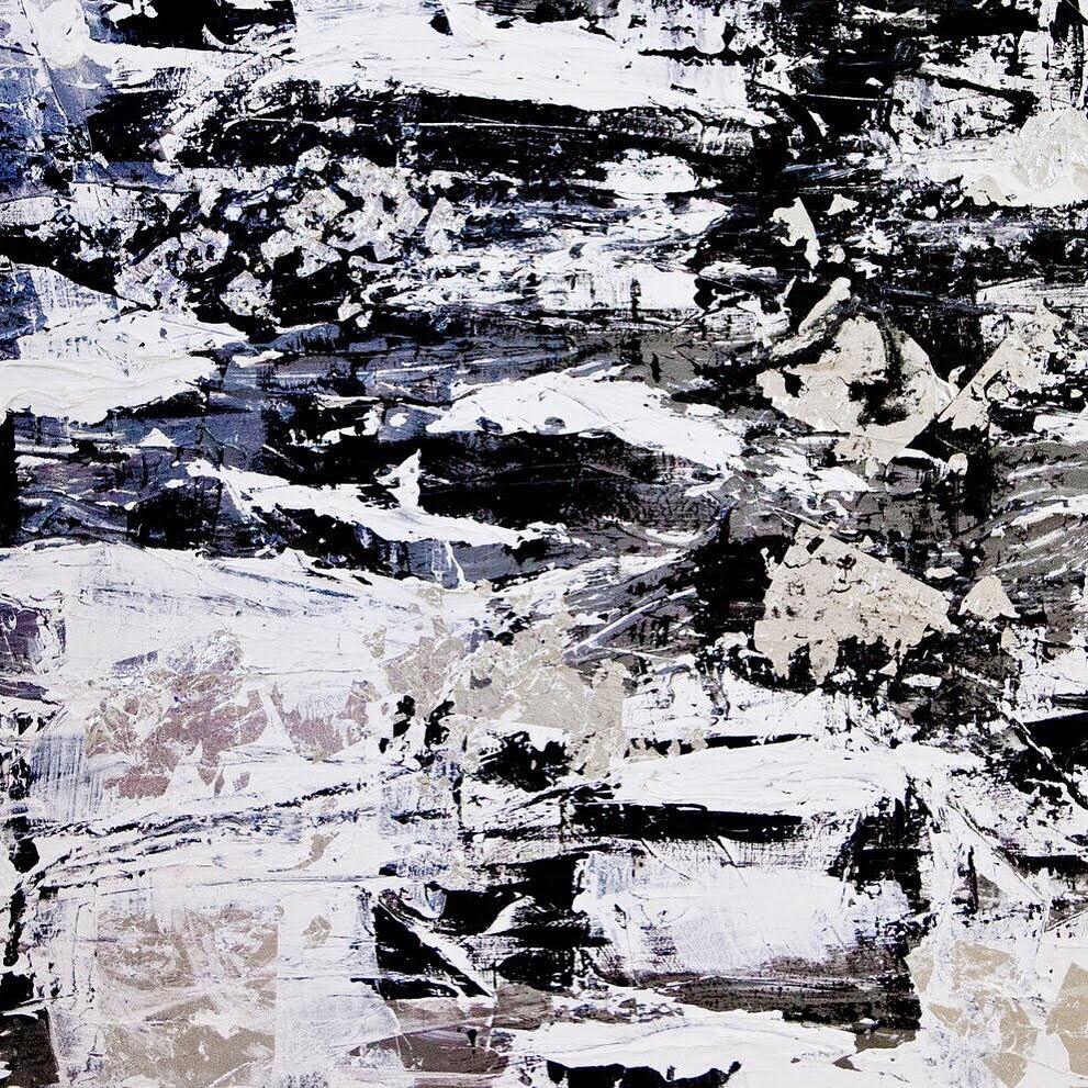 venice series - detail / acrylic on canvas / 72 in. x 36 in.