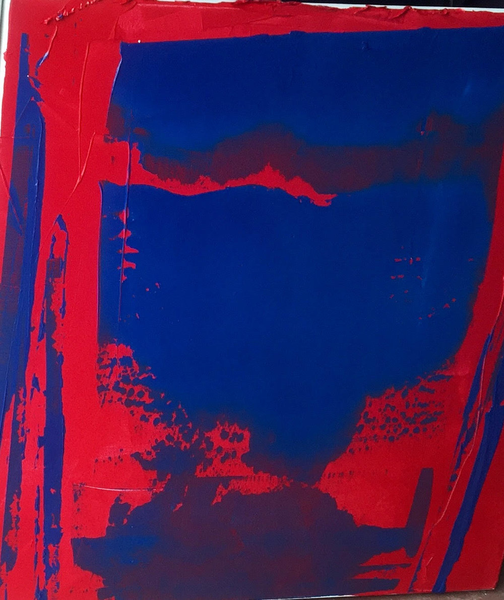 impetus series / acrylic on canvas / 36 in. x 36 in.