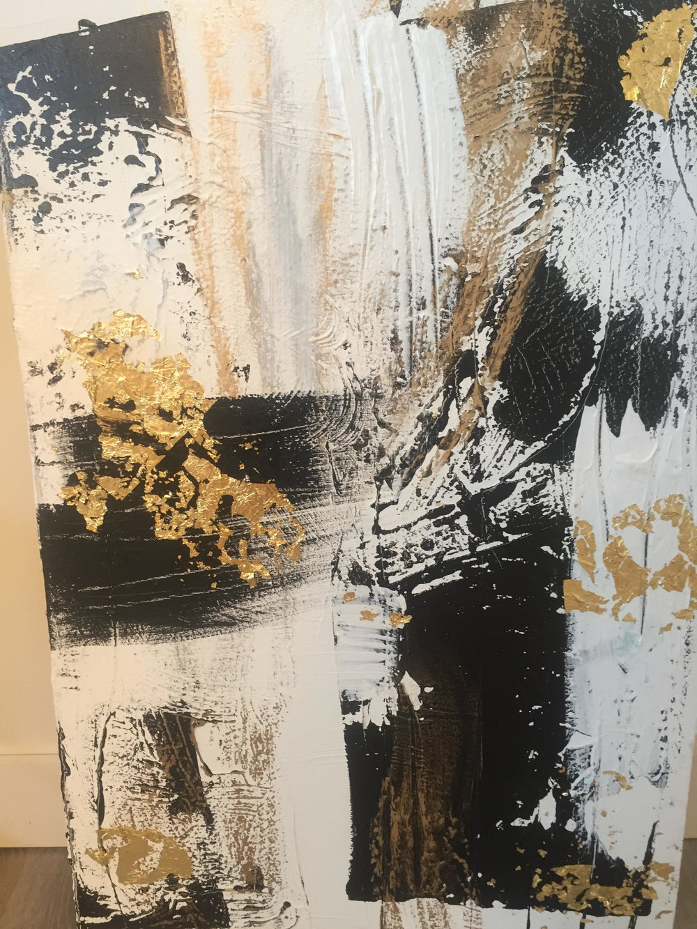 paris series no. 2 / acrylic on canvas / 48 in. x 36 in.