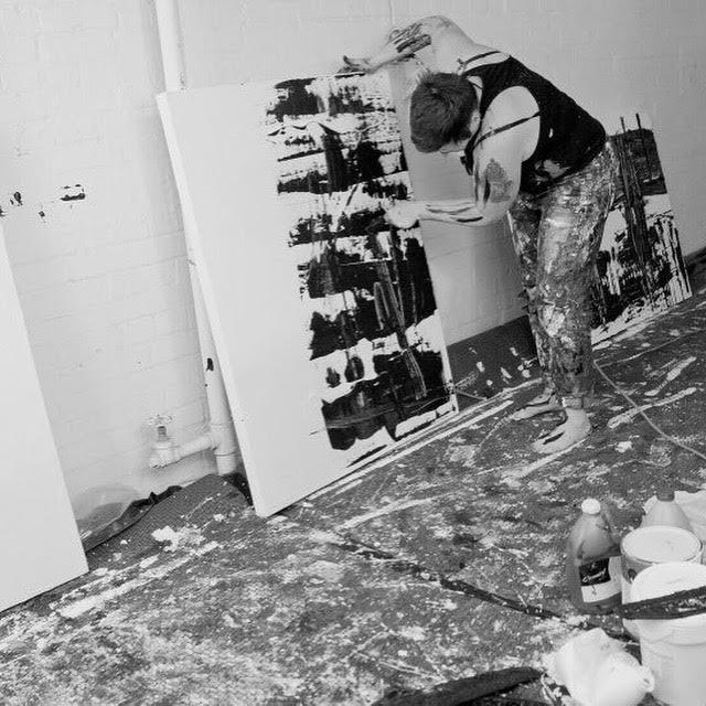 in studio painting black and white.jpg