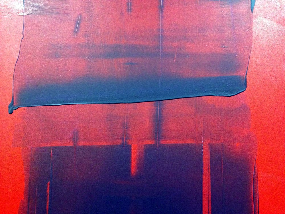 impetus series / acrylic on canvas / 48 in. x 36 in.