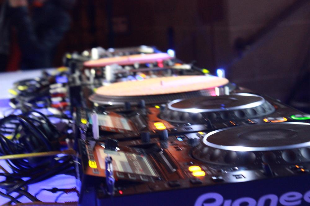 DJ Ken Ishii's setup