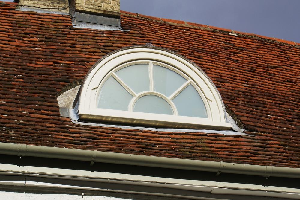 Semi circular window