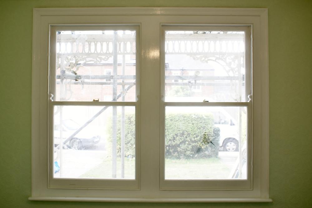 Sliding box frame windows