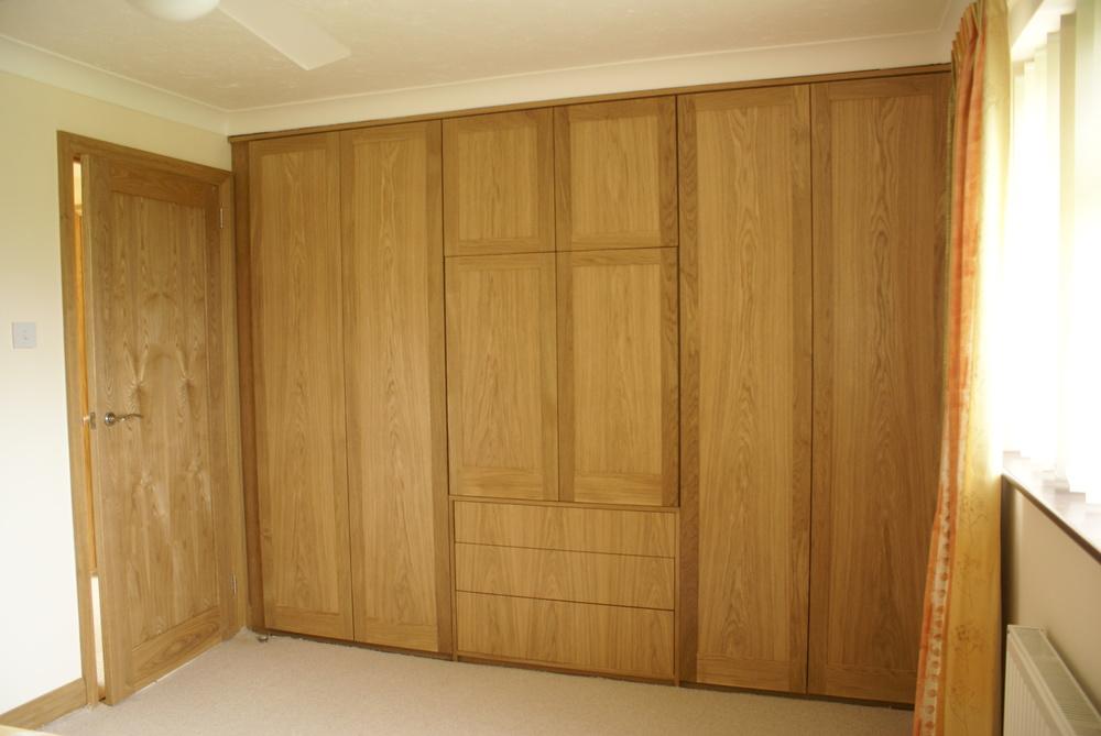 Oak wardrobes
