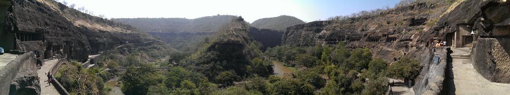 Ajanta Caves, Maharasthra