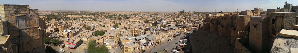 Jaisalmer, Rajasthan (from my bedroom window in the fort!)