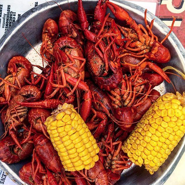 Crawfish season has arrived!! 😝🦐