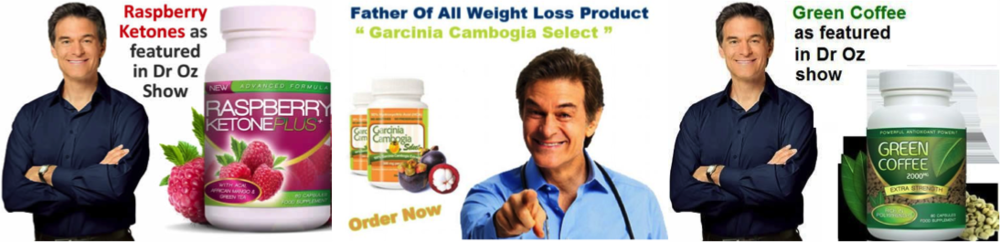 Some of the scam advertisements based on information presented in the Dr Oz show.