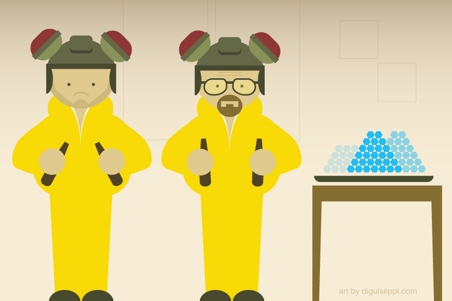 examples of content marketing from breaking bad