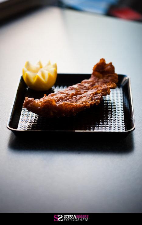 gebakken vis