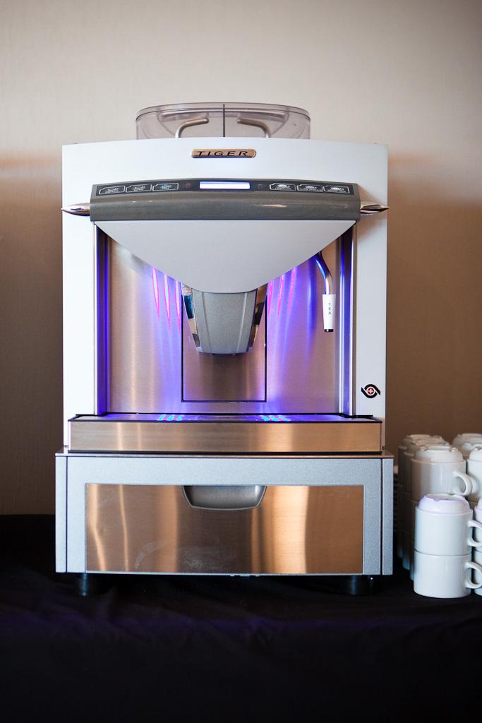 Hampshire Delft-koffiezet apparaat