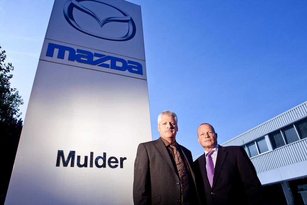Mulder Mazda directeuren