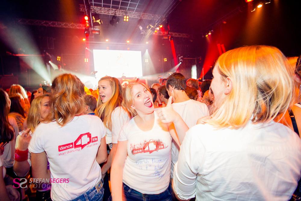 Het Dance 4 LIfe event van 2013
