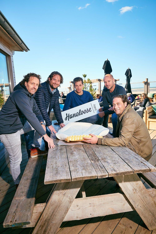 5 vaders van de award winnende starters Hangloose op Scheveningen