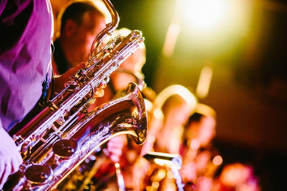 concert fotografie details op het podium