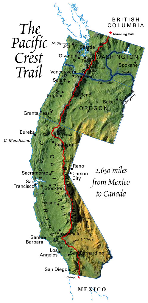 Pacific Crest Trail (USA) — Captains of Us
