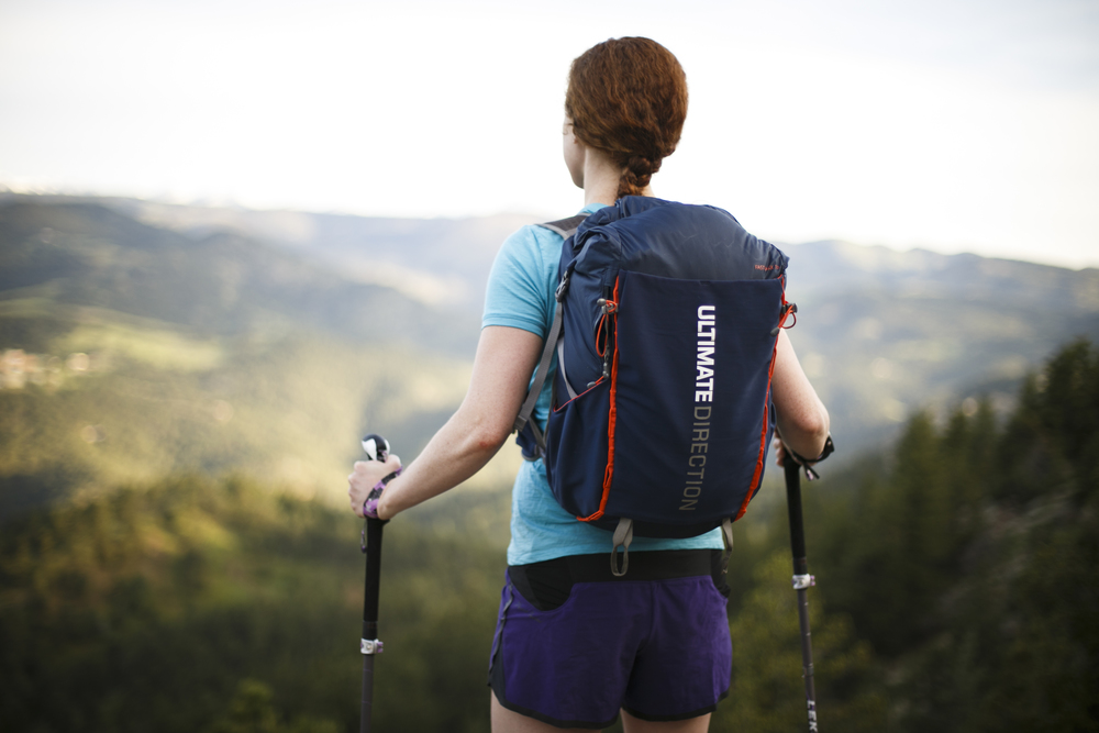 Our Fastpack 30L vests from Ultimate Direction will help us carry our gear in a small and compact space to ensure that it feels secure as we run along the trail.