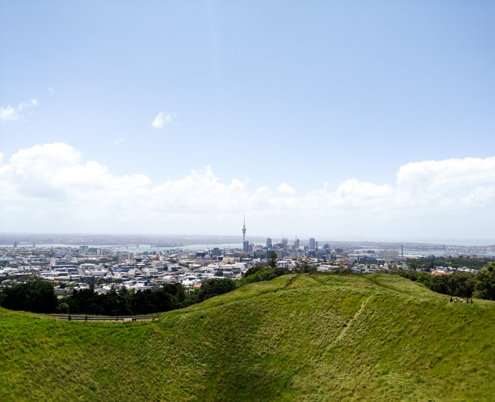 The view from atop Mt. Eden.  photo/ Molly