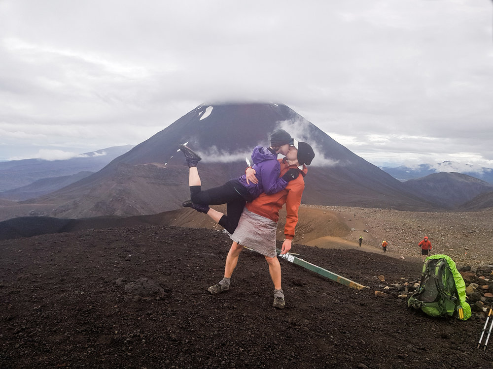 Mount Doom seemed like a cool place for a #brinsonbanksing moment.   photo/ Charlie