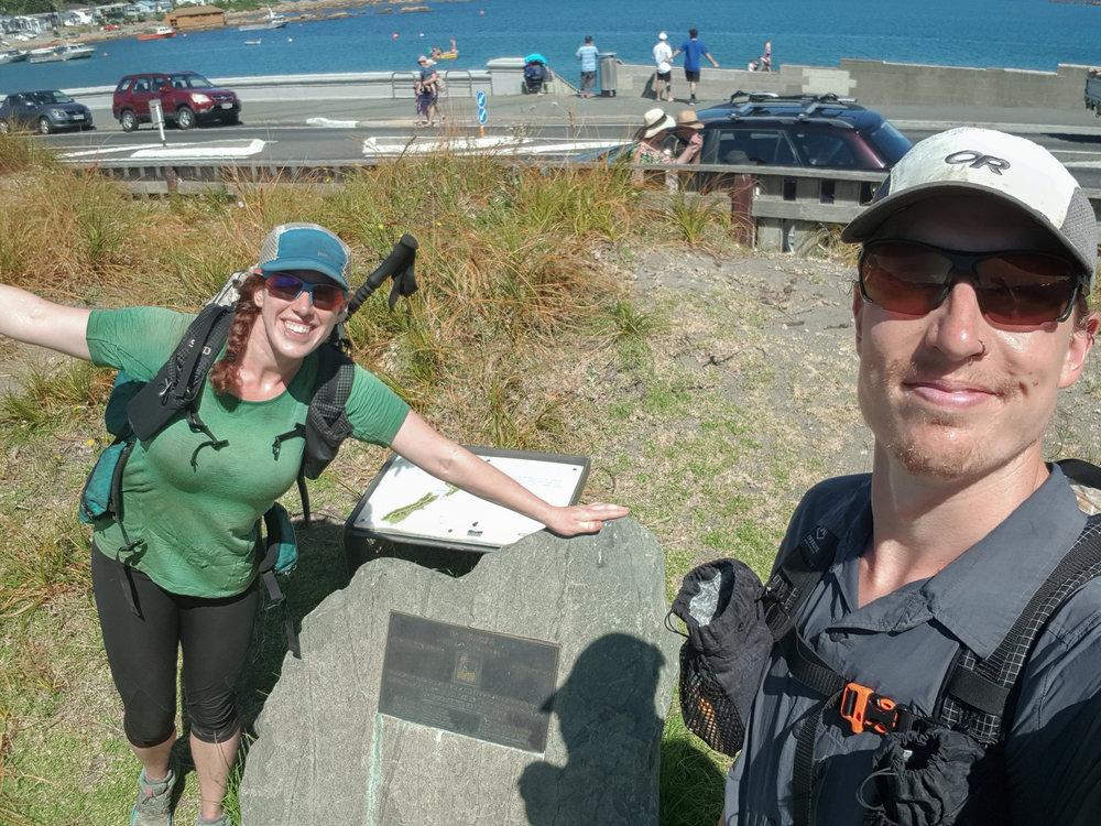 We finished the North Island!  photo/ Jonathan