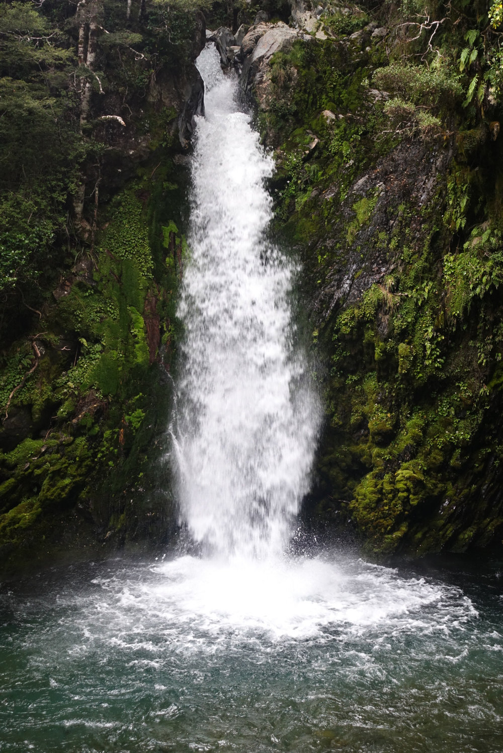 Travers Falls, 65 ft  photo/ Jonathan