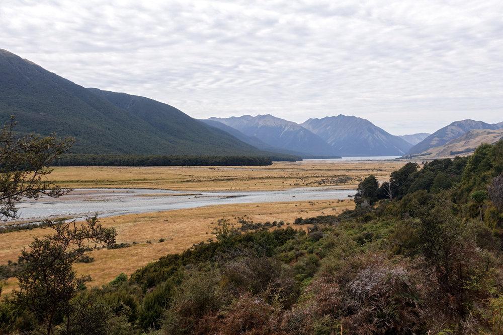The Hurunui River Valley  photo/ Jonathan