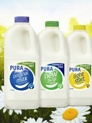 Pura Milk Permeate Free Campaign & Packaging Restage