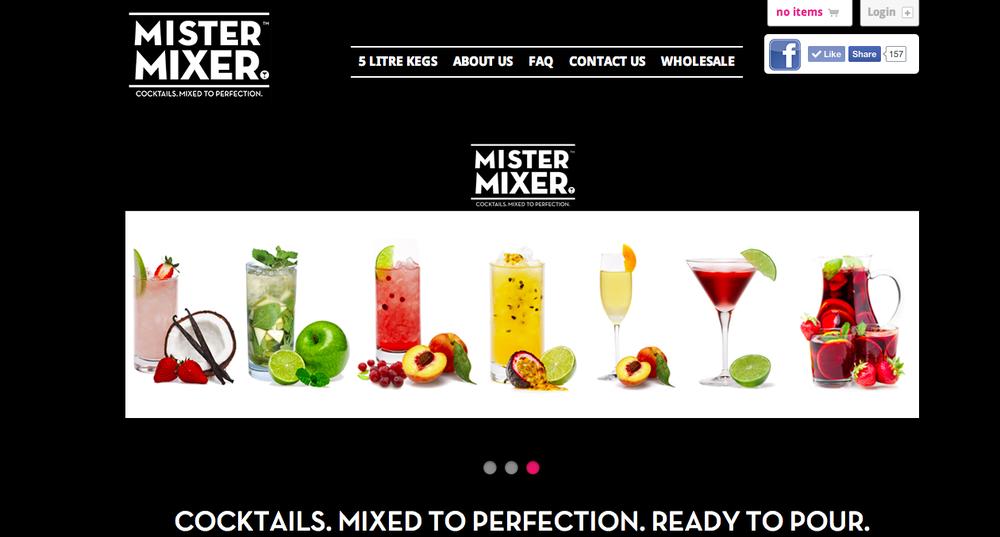Mister Mixer Old Website