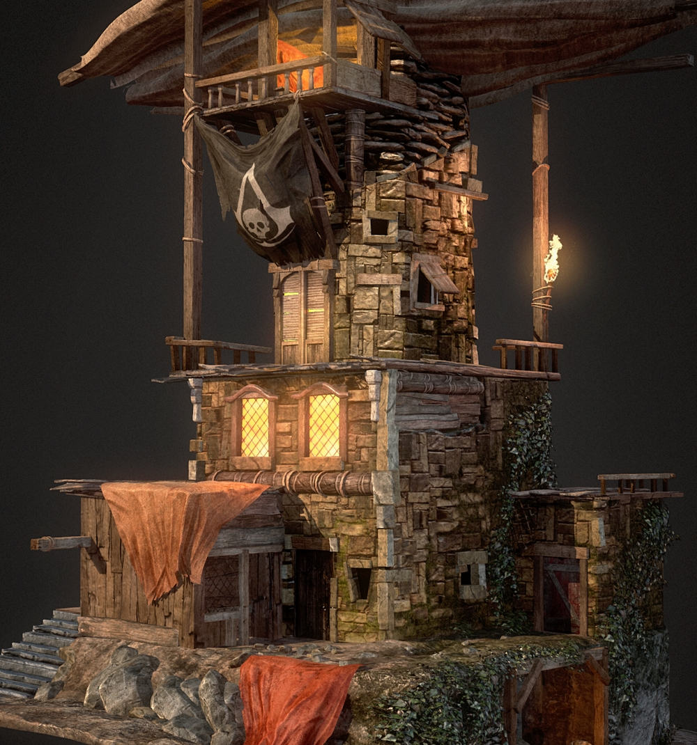 PIRATE HIDEOUT