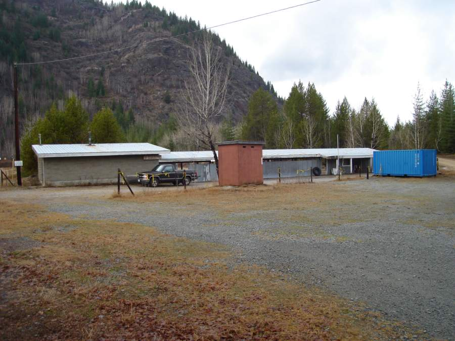 Entrance to West Kootenay Marksmen 100 meter range