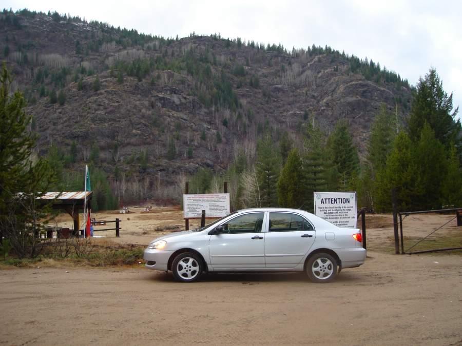 Entrance to the TWA Pat Archibald Range