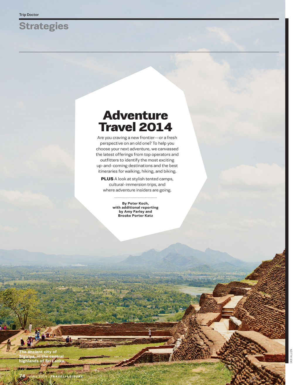 Travel + Leisure, June 2014