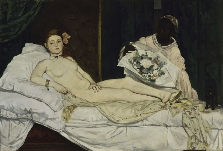 Édouard Manet, Olympia c. 1863