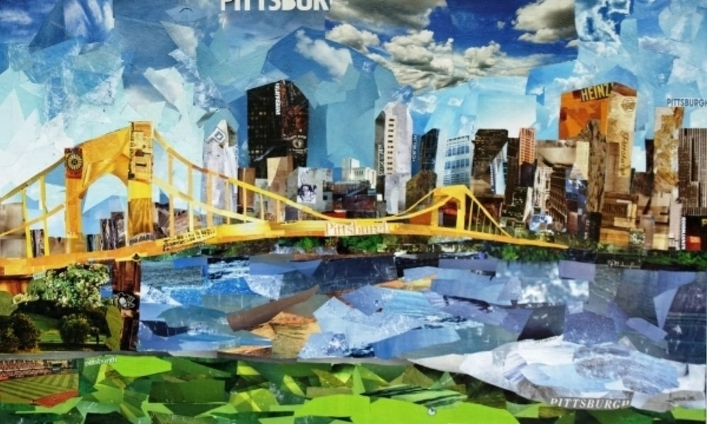 Pittsburgh...Large canvas prints available for purchase in the studio