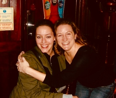 Ten years ago...in a pub in London...the friendship began...