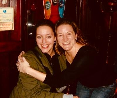 Ten years ago...in a pub in London...the friendship began...