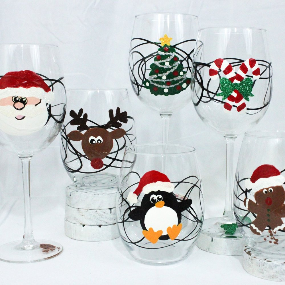 Christmas Characters - Santa, Rudolph, Candy Canes, Gingerbread Men and more!